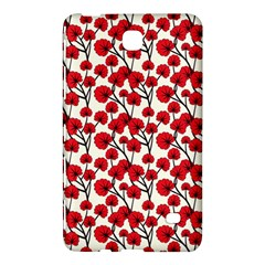 Red Flowers Samsung Galaxy Tab 4 (8 ) Hardshell Case  by allthingseveryone