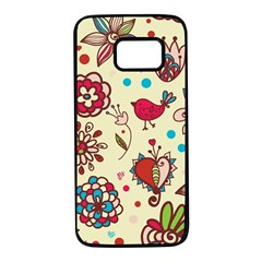 Spring Time Fun Samsung Galaxy S7 Black Seamless Case by AllThingsEveryone