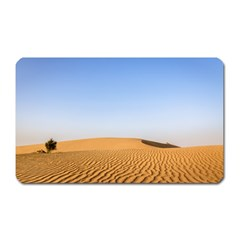 Desert Dunes With Blue Sky Magnet (rectangular) by Ucco
