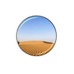 Desert Dunes With Blue Sky Hat Clip Ball Marker (4 Pack) by Ucco