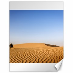 Desert Dunes With Blue Sky Canvas 12  X 16   by Ucco