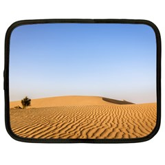 Desert Dunes With Blue Sky Netbook Case (large) by Ucco