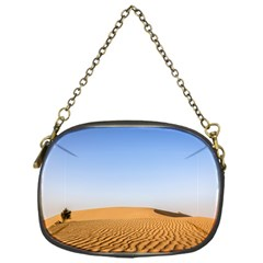 Desert Dunes With Blue Sky Chain Purses (one Side)  by Ucco