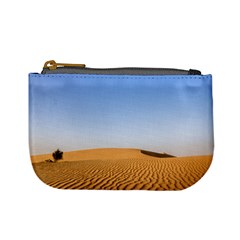 Desert Dunes With Blue Sky Mini Coin Purses by Ucco