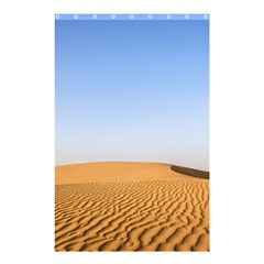 Desert Dunes With Blue Sky Shower Curtain 48  X 72  (small)  by Ucco