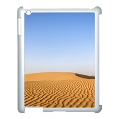 Desert Dunes With Blue Sky Apple Ipad 3/4 Case (white) by Ucco