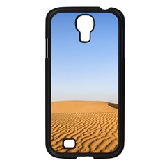 Desert Dunes With Blue Sky Samsung Galaxy S4 I9500/ I9505 Case (black) by Ucco