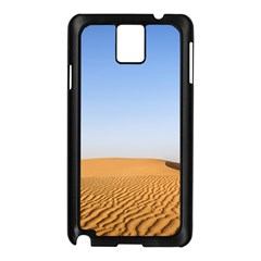 Desert Dunes With Blue Sky Samsung Galaxy Note 3 N9005 Case (black) by Ucco