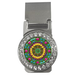 Bohemian Chic In Fantasy Style Money Clips (cz)  by pepitasart