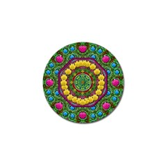 Bohemian Chic In Fantasy Style Golf Ball Marker (4 Pack) by pepitasart