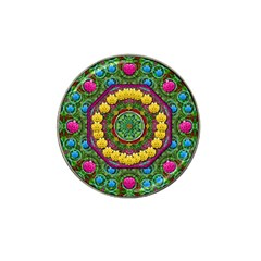 Bohemian Chic In Fantasy Style Hat Clip Ball Marker (4 Pack) by pepitasart