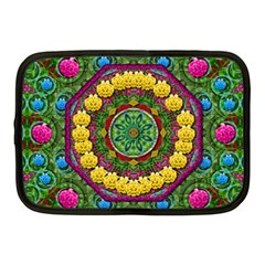 Bohemian Chic In Fantasy Style Netbook Case (medium)  by pepitasart