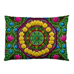 Bohemian Chic In Fantasy Style Pillow Case by pepitasart