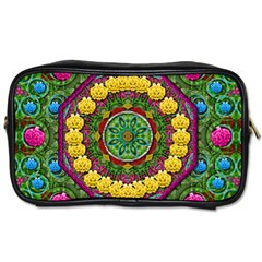 Bohemian Chic In Fantasy Style Toiletries Bags by pepitasart