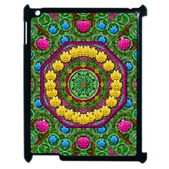 Bohemian Chic In Fantasy Style Apple Ipad 2 Case (black) by pepitasart