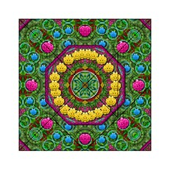 Bohemian Chic In Fantasy Style Acrylic Tangram Puzzle (6  X 6 )
