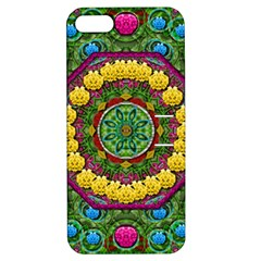 Bohemian Chic In Fantasy Style Apple Iphone 5 Hardshell Case With Stand by pepitasart
