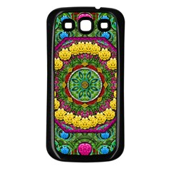 Bohemian Chic In Fantasy Style Samsung Galaxy S3 Back Case (black) by pepitasart