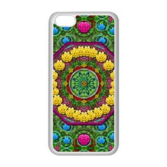 Bohemian Chic In Fantasy Style Apple Iphone 5c Seamless Case (white) by pepitasart
