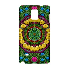 Bohemian Chic In Fantasy Style Samsung Galaxy Note 4 Hardshell Case by pepitasart