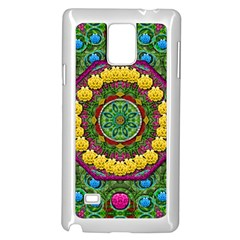 Bohemian Chic In Fantasy Style Samsung Galaxy Note 4 Case (white) by pepitasart