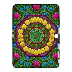 Bohemian Chic In Fantasy Style Samsung Galaxy Tab 4 (10 1 ) Hardshell Case  by pepitasart