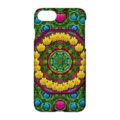 Bohemian Chic In Fantasy Style Apple Iphone 7 Hardshell Case by pepitasart