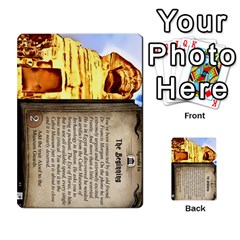 Arkham Lcg: Sphinx & Sands By Mattarkham   Multi Purpose Cards (rectangle)   T1ygc1coeuzh   Www Artscow Com Front 1