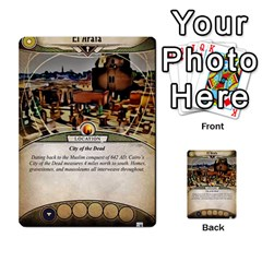 Arkham Lcg: Sphinx & Sands By Mattarkham   Multi Purpose Cards (rectangle)   T1ygc1coeuzh   Www Artscow Com Front 51