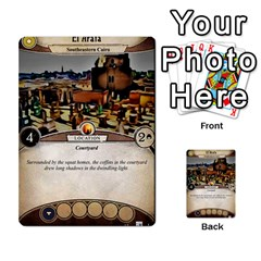 Arkham Lcg: Sphinx & Sands By Mattarkham   Multi Purpose Cards (rectangle)   T1ygc1coeuzh   Www Artscow Com Back 51