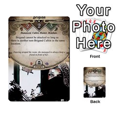 Arkham Lcg: Sphinx & Sands By Mattarkham   Multi Purpose Cards (rectangle)   T1ygc1coeuzh   Www Artscow Com Front 13