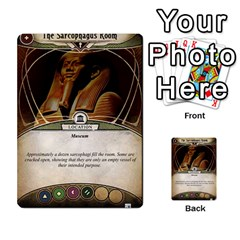 Arkham Lcg: Sphinx & Sands By Mattarkham   Multi Purpose Cards (rectangle)   T1ygc1coeuzh   Www Artscow Com Back 20