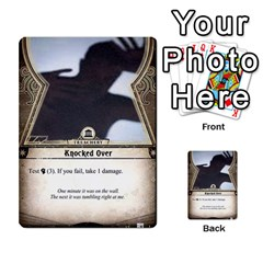 Arkham Lcg: Sphinx & Sands By Mattarkham   Multi Purpose Cards (rectangle)   T1ygc1coeuzh   Www Artscow Com Front 3