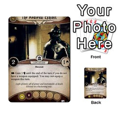 Arkham Lcg: Sphinx & Sands By Mattarkham   Multi Purpose Cards (rectangle)   T1ygc1coeuzh   Www Artscow Com Front 21