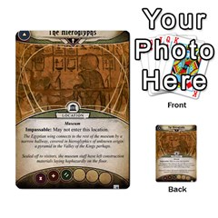 Arkham Lcg: Sphinx & Sands By Mattarkham   Multi Purpose Cards (rectangle)   T1ygc1coeuzh   Www Artscow Com Back 22