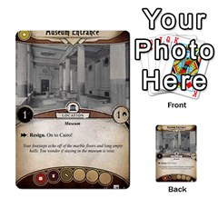 Arkham Lcg: Sphinx & Sands By Mattarkham   Multi Purpose Cards (rectangle)   T1ygc1coeuzh   Www Artscow Com Front 25