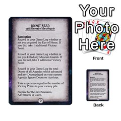 Arkham Lcg: Sphinx & Sands By Mattarkham   Multi Purpose Cards (rectangle)   T1ygc1coeuzh   Www Artscow Com Back 35
