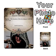 Arkham Lcg: Sphinx & Sands By Mattarkham   Multi Purpose Cards (rectangle)   T1ygc1coeuzh   Www Artscow Com Front 40