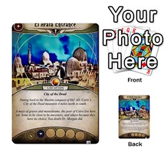 Arkham Lcg: Sphinx & Sands By Mattarkham   Multi Purpose Cards (rectangle)   T1ygc1coeuzh   Www Artscow Com Front 45