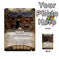Arkham Lcg: Sphinx & Sands By Mattarkham   Multi Purpose Cards (rectangle)   T1ygc1coeuzh   Www Artscow Com Front 46