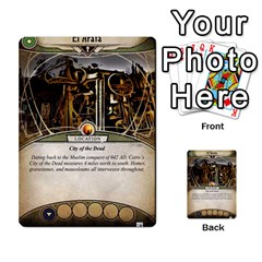 Arkham Lcg: Sphinx & Sands By Mattarkham   Multi Purpose Cards (rectangle)   T1ygc1coeuzh   Www Artscow Com Front 48