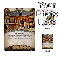 Arkham Lcg: Sphinx & Sands By Mattarkham   Multi Purpose Cards (rectangle)   T1ygc1coeuzh   Www Artscow Com Front 50