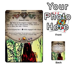 Arkham Lcg: Sphinx And Sands By Mattarkham   Multi Purpose Cards (rectangle)   3uk2e69nfcdj   Www Artscow Com Front 2