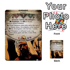 Arkham Lcg: Sphinx And Sands By Mattarkham   Multi Purpose Cards (rectangle)   3uk2e69nfcdj   Www Artscow Com Front 12