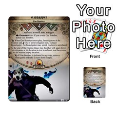 Arkham Lcg: Sphinx And Sands By Mattarkham   Multi Purpose Cards (rectangle)   3uk2e69nfcdj   Www Artscow Com Front 16