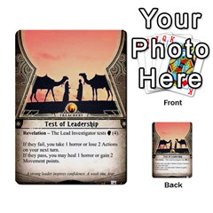 Arkham Lcg: Sphinx And Sands By Mattarkham   Multi Purpose Cards (rectangle)   3uk2e69nfcdj   Www Artscow Com Front 26