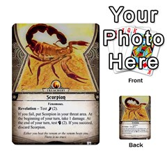 Arkham Lcg: Sphinx And Sands By Mattarkham   Multi Purpose Cards (rectangle)   3uk2e69nfcdj   Www Artscow Com Front 32