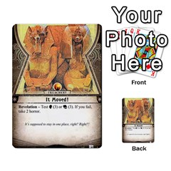 Arkham Lcg: Sphinx And Sands By Mattarkham   Multi Purpose Cards (rectangle)   3uk2e69nfcdj   Www Artscow Com Front 35