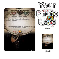 Arkham Lcg: Sphinx And Sands By Mattarkham   Multi Purpose Cards (rectangle)   3uk2e69nfcdj   Www Artscow Com Front 5