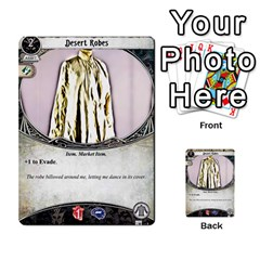 Arkham Lcg: Sphinx And Sands By Mattarkham   Multi Purpose Cards (rectangle)   3uk2e69nfcdj   Www Artscow Com Front 42
